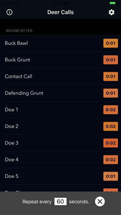 Deer Calls & Hunting Sounds Screenshot