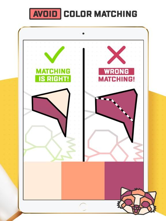 Trio - Polygon Coloring Puzzle screenshot 7