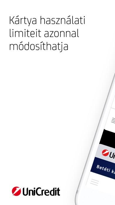 UniCredit Mobilalkalmazás screenshot one