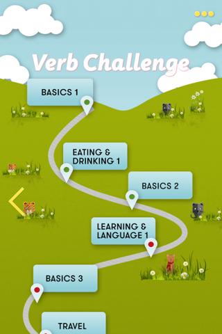 CatsAndVerbs: Spanish verbs - náhled