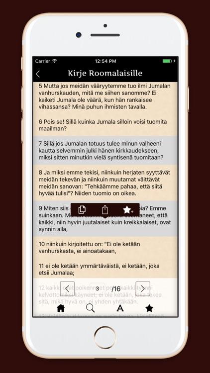 Pyhä Raamattu - Finnish Bible