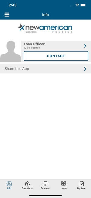 Loan Officer Tool on the App Store
