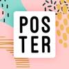 Pinso:ポスター、ポストカード、招待状のデザイン
