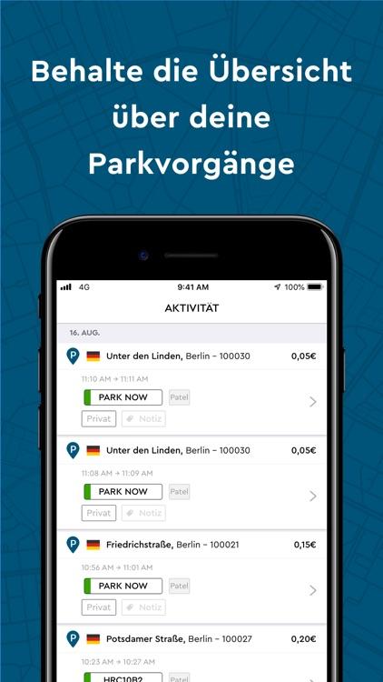 PARK NOW Europas Nr.1 Park-App screenshot-5