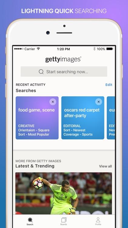 Getty Images screenshot-0