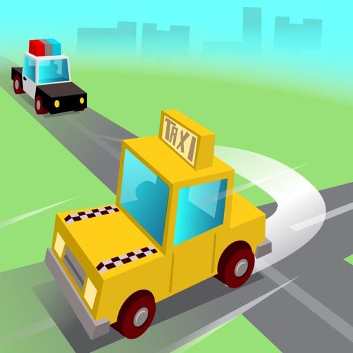 Taxi vs Cops