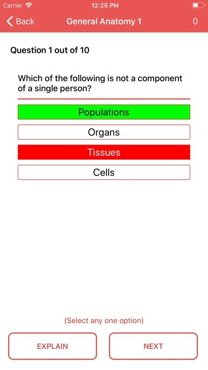 Anatomy and Physiology Quiz screenshot-4