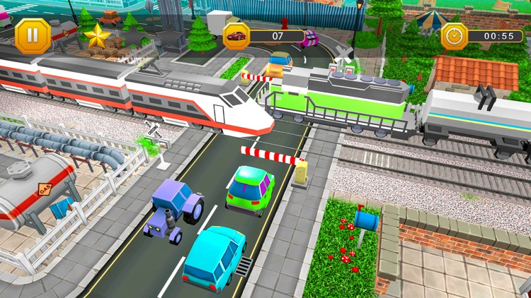 Real Railroad Crossing 3D