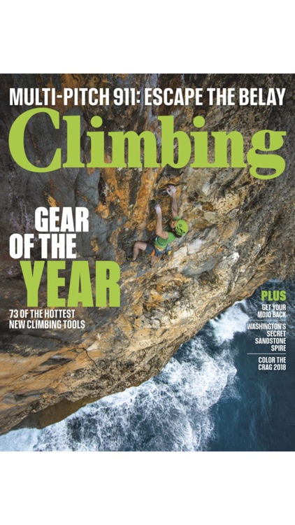 Climbing Magazine screenshot-0