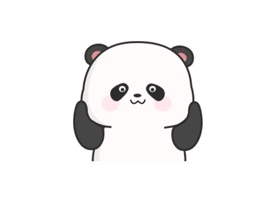Chubby Panda  Animated Emoji Stickers provide 23 lovely funny cute gif panda emoji stickers for iMessage users