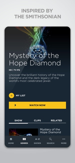 Smithsonian Channel on the App Store