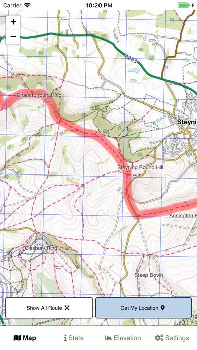 South Downs Way Map screenshot 3