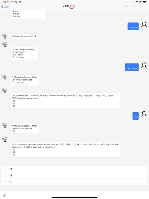 Maths Seconde screenshot 10