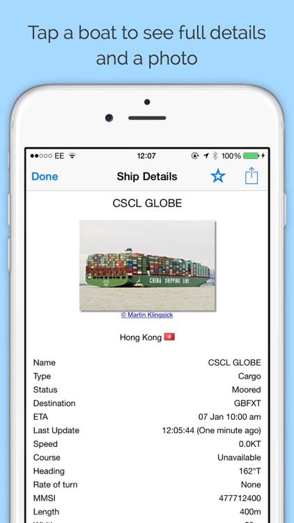 Boat Watch - Ship Tracking screenshot-3