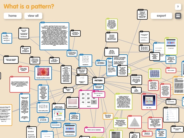 ‎Popplet Lite Screenshot