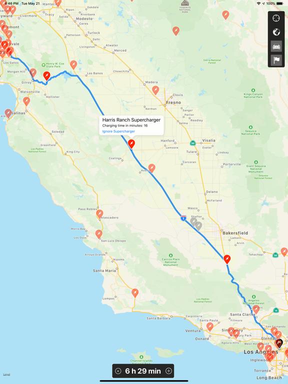 Trip for Tesla