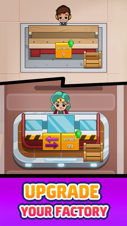 Idle Factory Tycoon: Business! screenshot-0