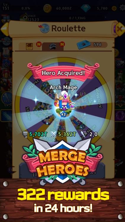 Merge Heroes Frontier screenshot-4