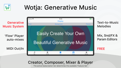 Wotja: Generative Music