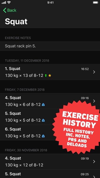 HeavySet - Gym Workout Log