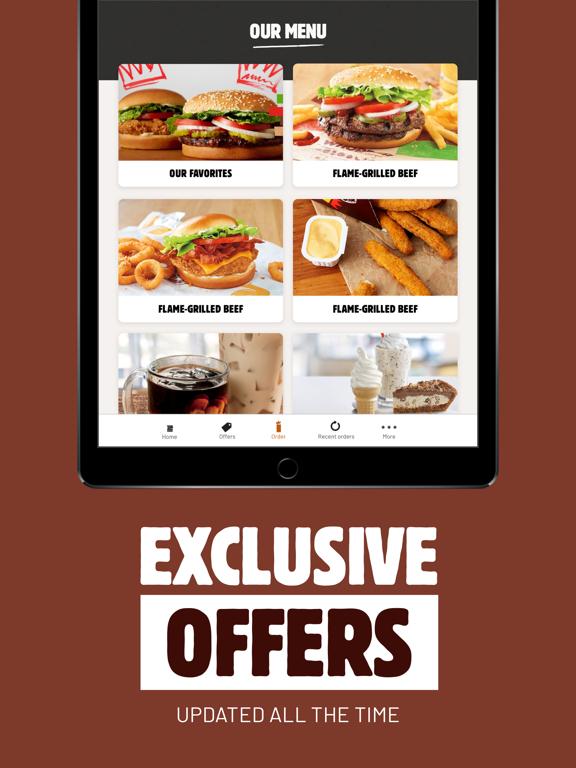 iPad Image of BURGER KING® App