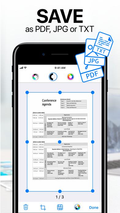 iScanner - PDF Scanner App. Screenshots