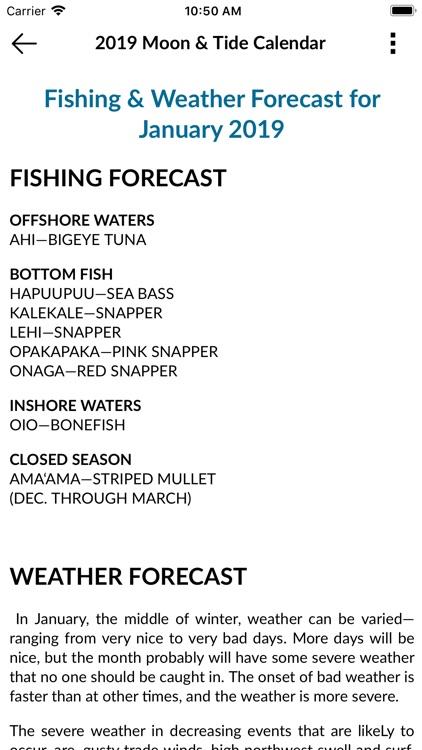 Hawaii Fishing News screenshot-4