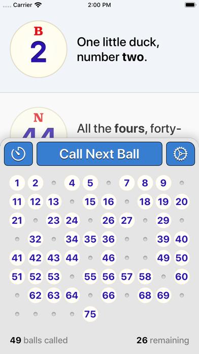 Bingo Machine - Number Callerのおすすめ画像1