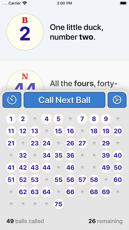 Bingo Machine - Number Caller screenshot-0