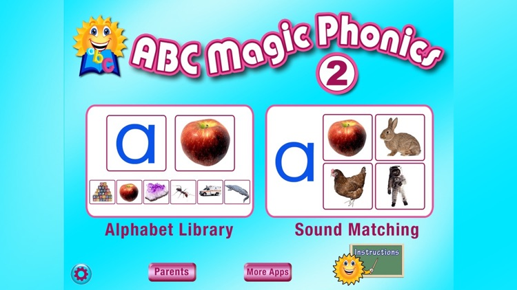 ABC MAGIC PHONICS 2 Deluxe screenshot-0