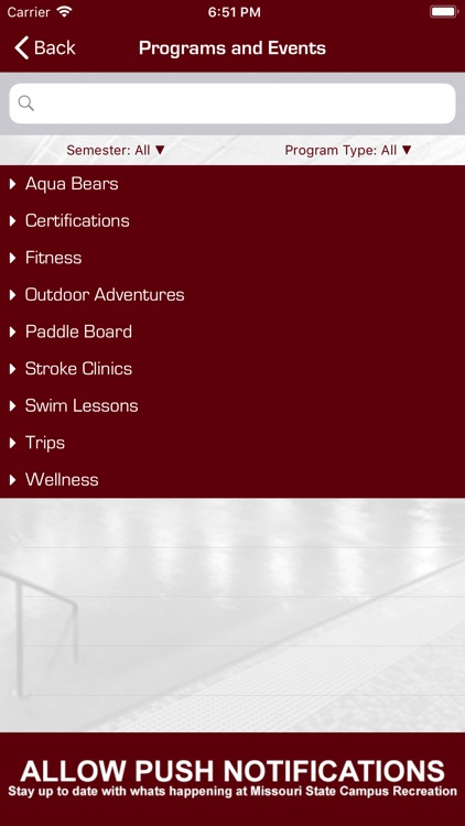 MSU CAMPUS RECREATION screenshot-4