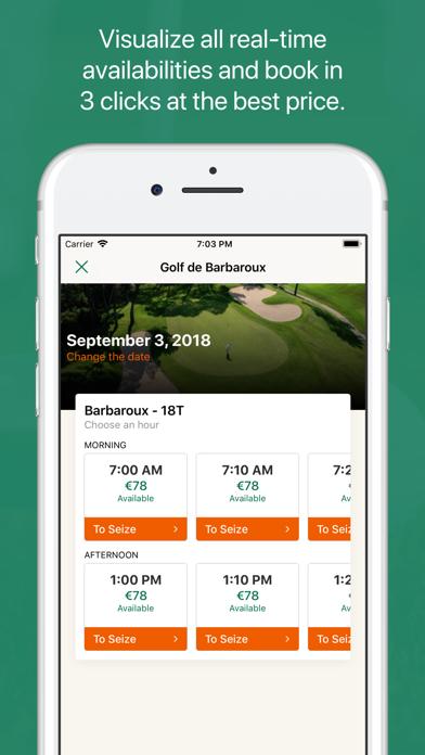 Open Golf Club screenshot four