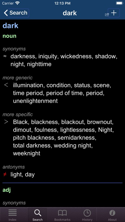 English Thesaurus (WordNet) screenshot-5