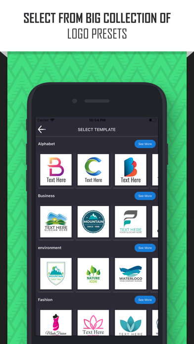 Logo Maker:  Create a Design screenshot two