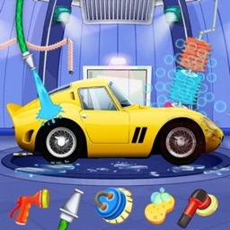 Super Car Cleaning Station