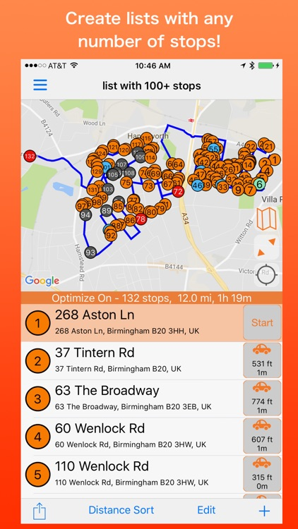 PlaceMaker Route Planner screenshot-0