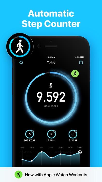 StepsApp Pedometer screenshot-0