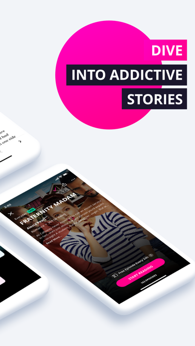 Radish Fiction & Chat Stories Screenshot