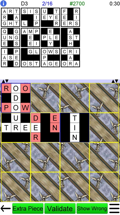 Jigsaw Crossword + screenshot-5