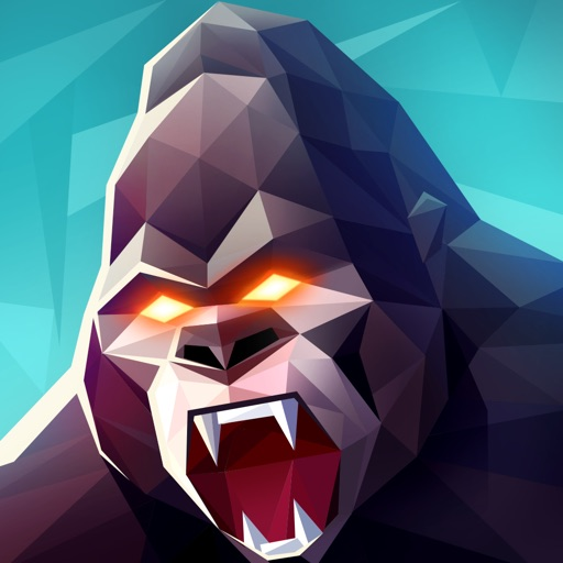 Kong Rage 3D: Dash & Crush