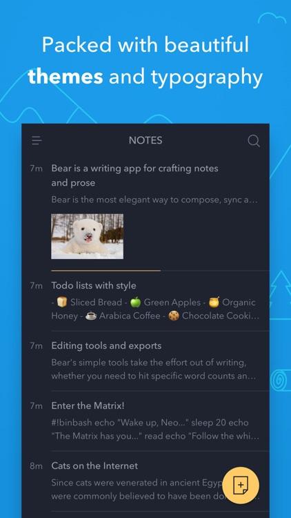 Bear screenshot-4