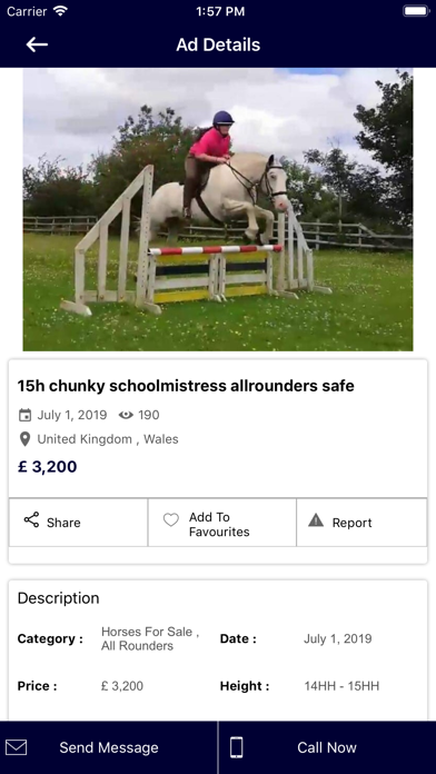 Equestrian Marketplace screenshot #2