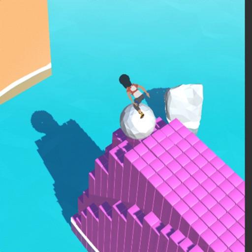 Roller path ball painter 3D