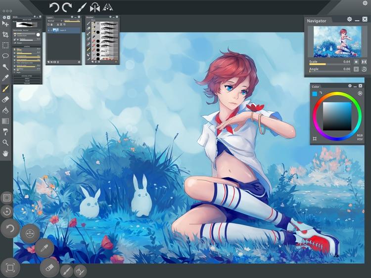 Paintstorm Studio Lite screenshot-4