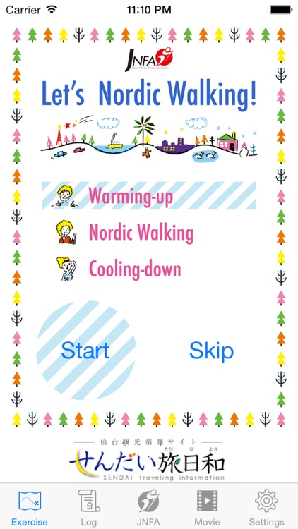 JNFA NW (Nordic walking)