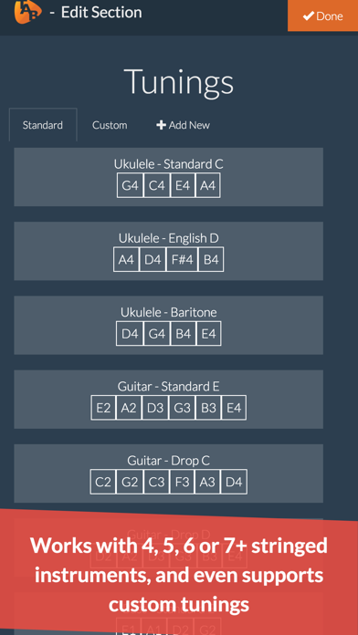 Ukulele Notepad - Tab Editor screenshot four