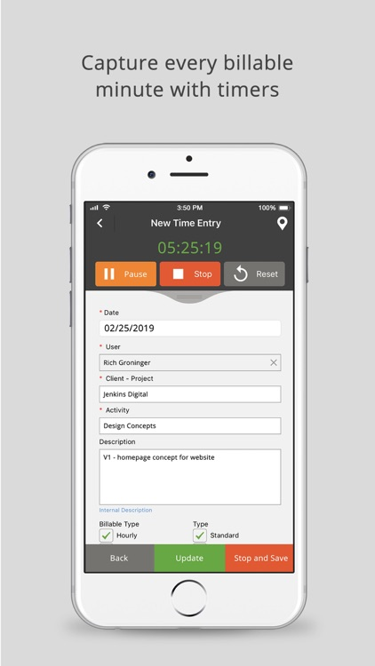 Time Tracker by eBillity