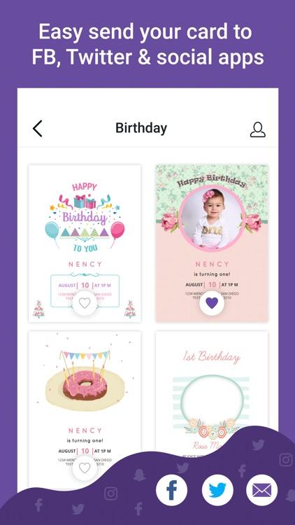 Custom Card Maker App