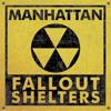 Manhattan Fallout Shelters Map