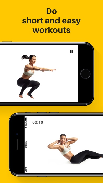 Screenshot for Yoga-Go: Weight Loss Workouts in Kuwait App Store